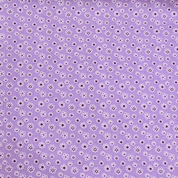 Micro Floral Dots ~ Purple on Purple