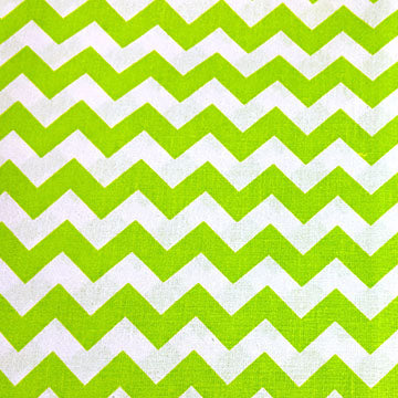 Chevron Pattern ~ Lime Green