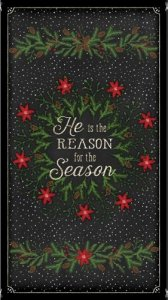 He Is The Reason for The Season Christmas Panel