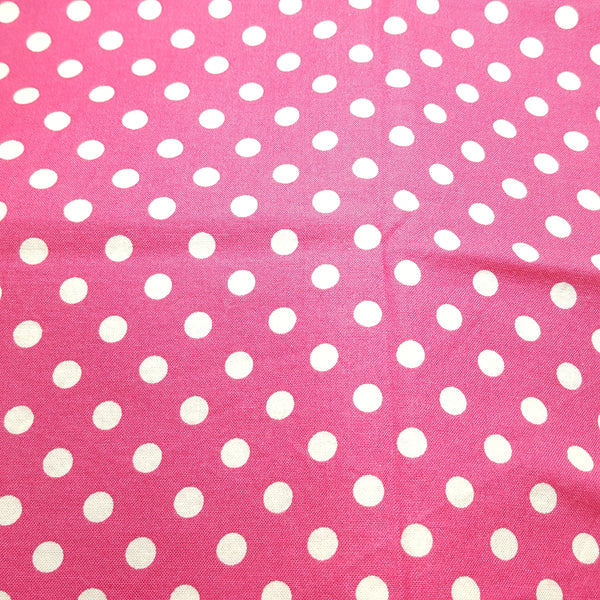 "Dots 1/4"" Pink ~ Remnant 18""x22"""