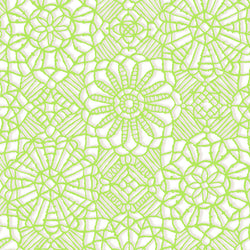 Amazing Lace ~ White/Lime