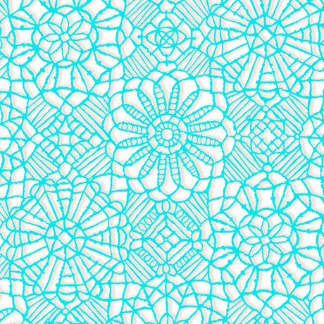 Amazing Lace ~ White/Marine