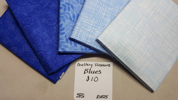 Harmony ~ Blues Fat Quarter Set