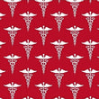 Calling All Nurses ~ Red DNA (Half Yard)