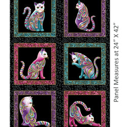 CAT-I-TUDE ~ CAT-I-TUDE ~ Panel Black/Multi