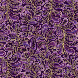 CAT-I-TUDE ~ Feather Frolic Purple ~ Remnant 30
