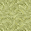 CAT-I-TUDE ~ Beaded Swirls Tonal Green