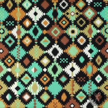 Navajo Earth Tones ~ Geometrical