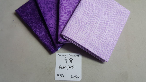 Harmony ~ Purples Fat Quarter Set