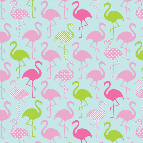 Flamingo Party ~ Knit