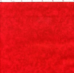 Mottled Blender: Red Birthday (Half Yard)