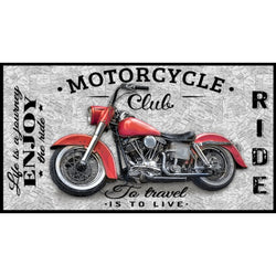 Coast to Coast ~ Motorcycle Panel 24 Inches