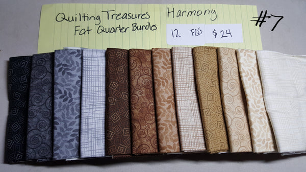 Harmony ~ Neutrals Fat Quarter Set