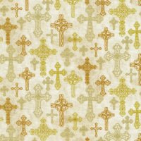 A Beautiful Place ~ Baptismal Cross Cream