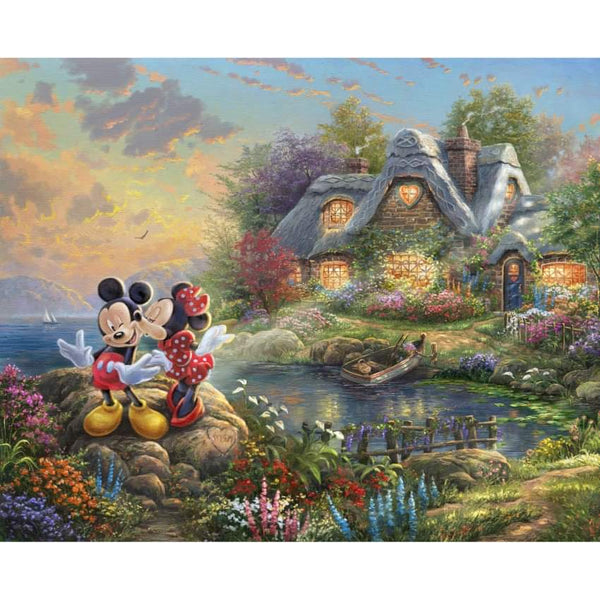 Thomas Kinkade: Disney Dreams - Country Cottage