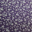 Dark Purple with Tiny White Floral