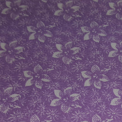 Lavendar with Tonal Star Floral