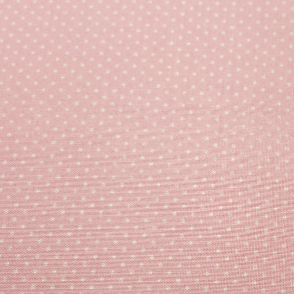Light Pink with White Pindot