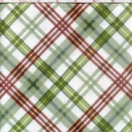 Romantic Afternoon Plaid Green