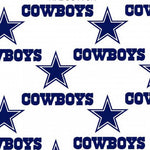 NFL - Dallas Cowboys on Stars on White 60