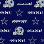 NFL - Dallas Cowboys on Stars on Blue 60