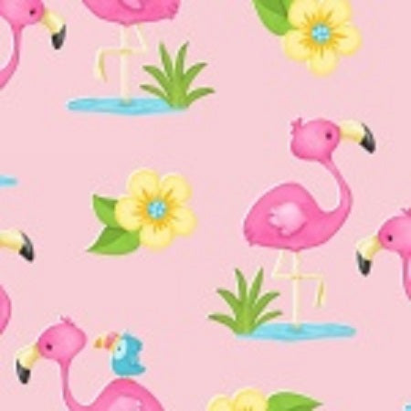 Comfy Flannel Prints ~ Flamingo