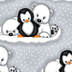 Comfy Flannel Prints ~ Penguins and Polar Bears