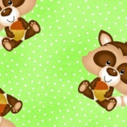 Comfy Flannel Prints ~ Racoons