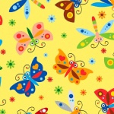 Comfy Flannel Prints ~ Butterflies and Dragonflies