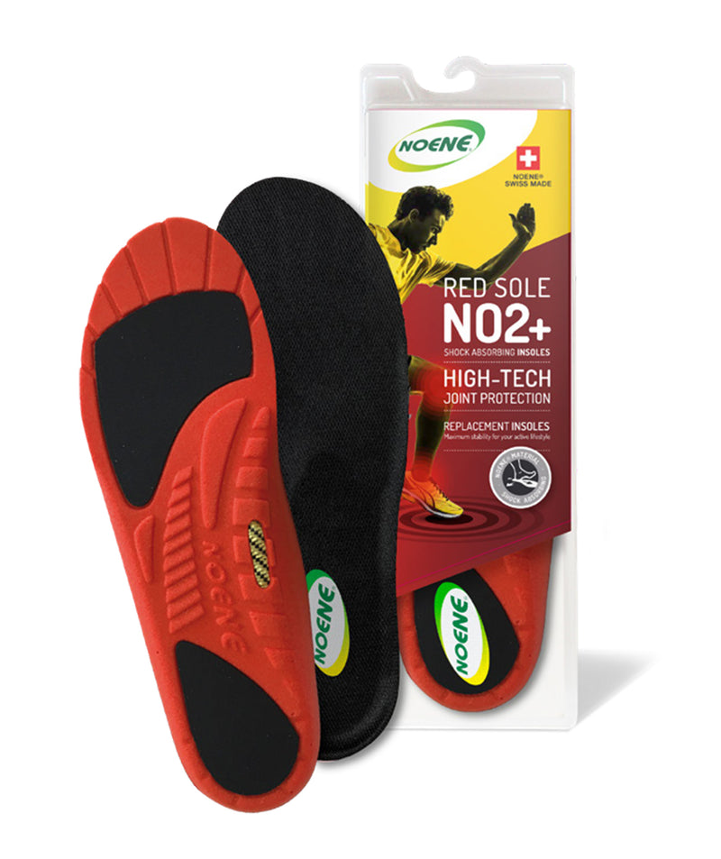 18bba180 NOENE® Red Sole NO2+ Insoles – Max comfort and shock absorbing insoles –  Noene America