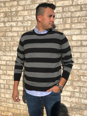 Earn Your Stripes Crewneck