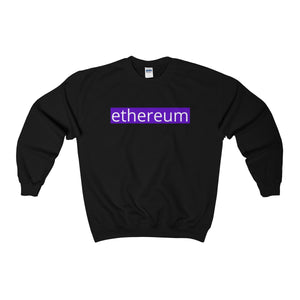 Ethereum Crew Neck Sweatshirt