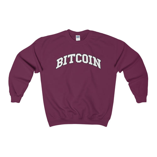 Bitcoin College Sweatshirt