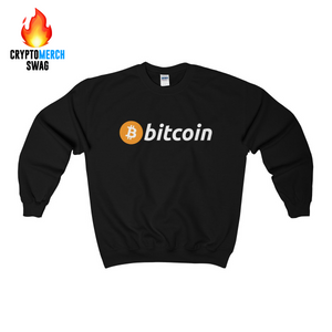 Bitcoin Crew Neck Sweatshirt