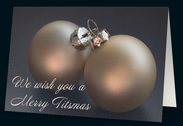 We wish you a Merry Titsmas Card