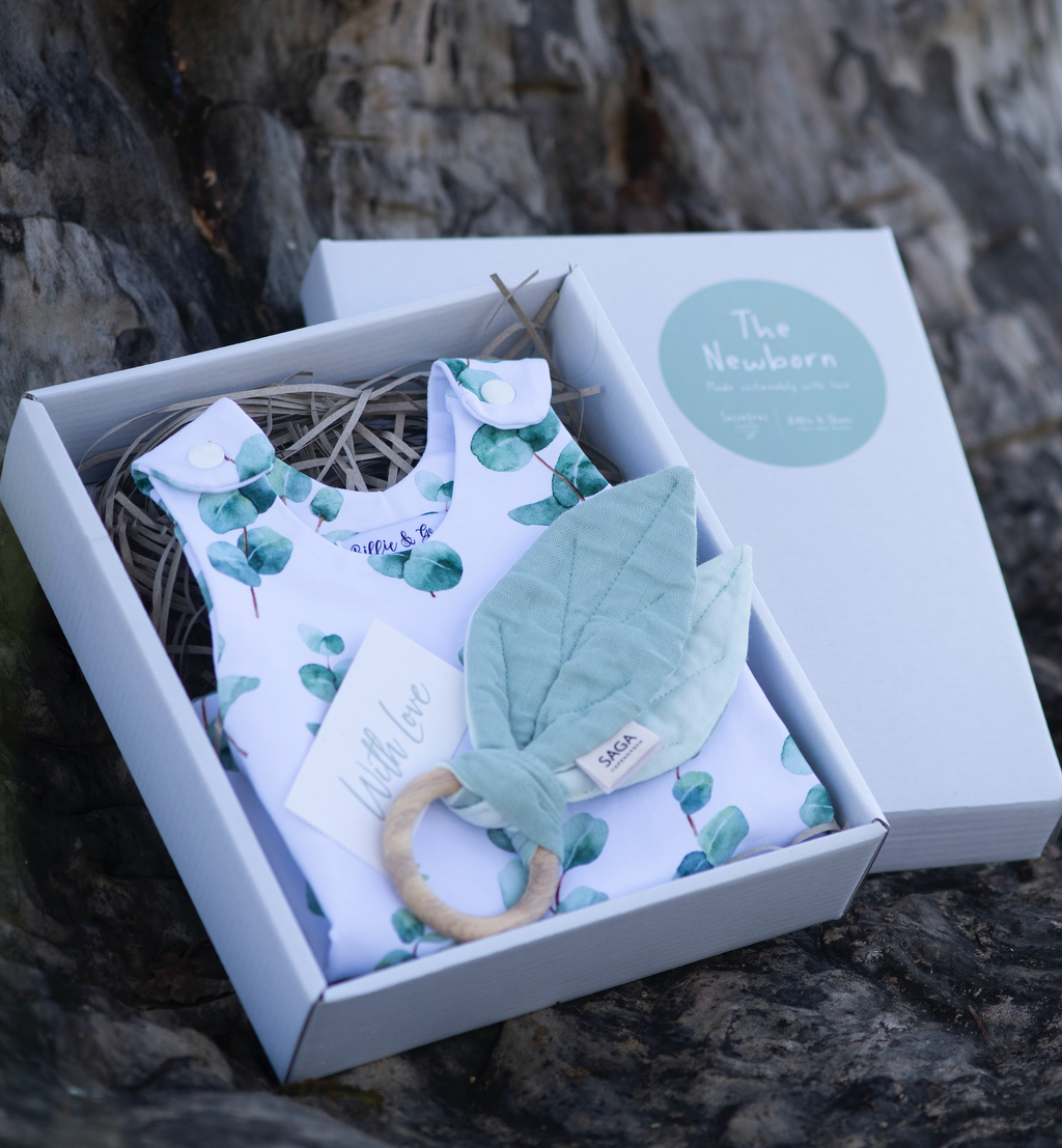 Eucalyptus Newborn Giftbox Summer