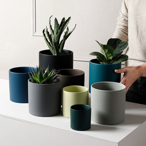 Nordic Ceramic Colorful Pots