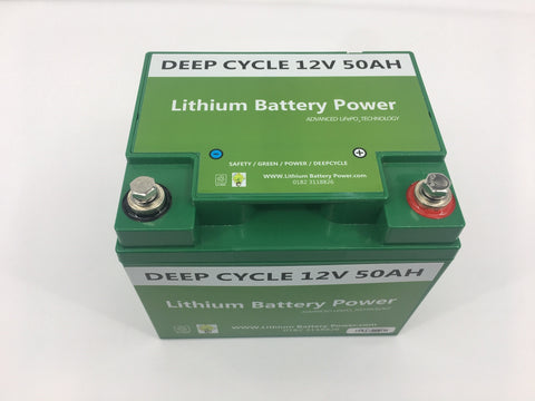 12V 50Ah Eco Lithium Battery