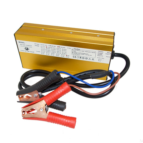 Lithium 12V 10A Electronic Battery Charger