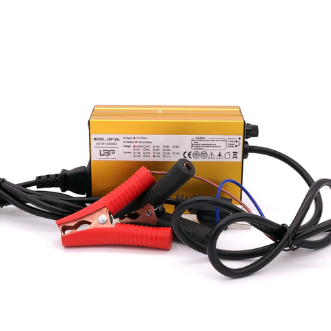 Lithium 12V 6A Electronic Battery Charger - Lithium Battery Power, LLC