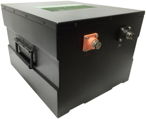 48V 200Ah Lithium Ion Battery - Steel Case - Lithium Battery Power, LLC