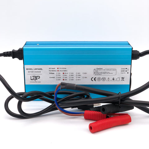 24v25A lithium battery charger