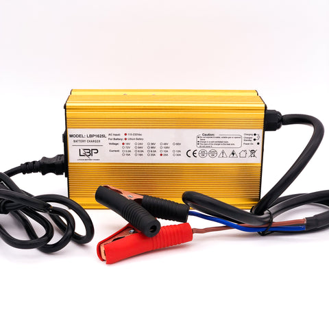 Lithium 16V 25A Electronic Battery Charger - Lithium Battery Power, LLC
