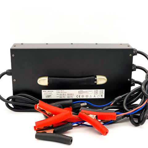 4 bank 12v15A lithium battery charger