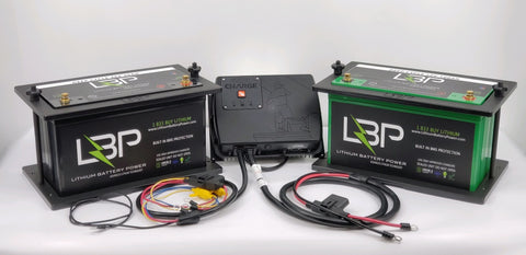 Total Boat Kit 12V/36V with Power-Pole Charge - Lithium Battery Power, LLC