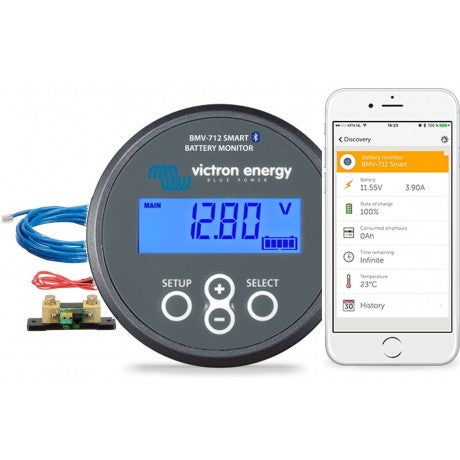 Victron BMV-712 Bluetooth Smart Gauge - Lithium Battery Power, LLC