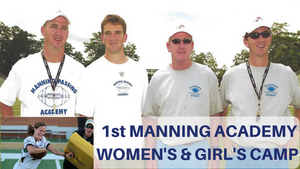 Manning Passing Academy holding their 1st Women's Camp & Clinic June 2018