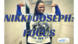 Nikki Joseph FOCUS FOOTBALLIFE