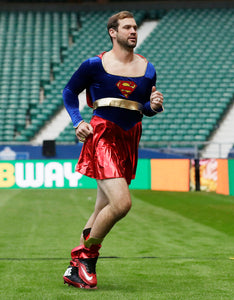 NFL QB, Drew Stanton dressed up as Super girl after losing QB competition - FOOTBALLIFE