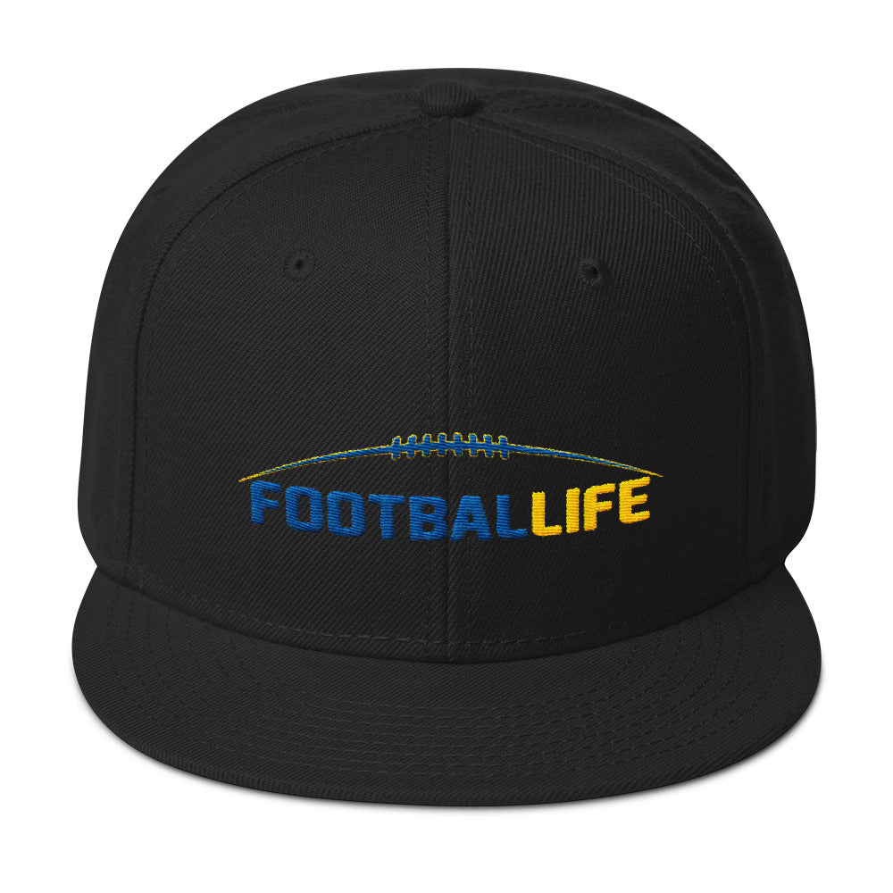 The Life Snapback Hat - FOOTBALLIFE